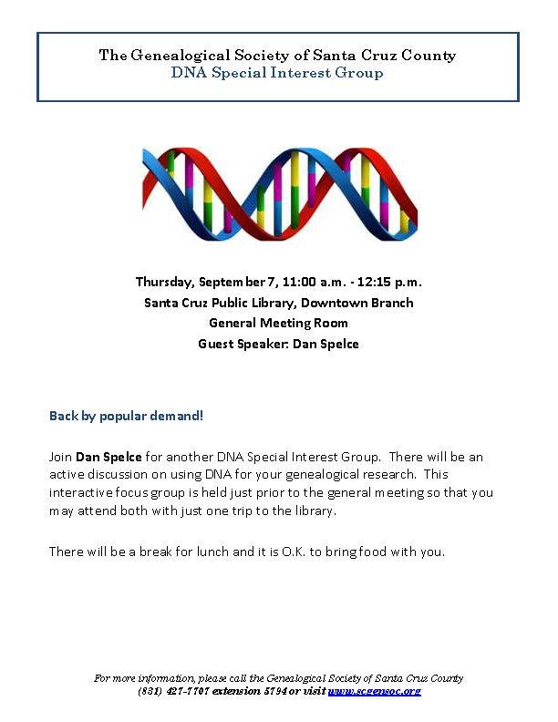 Sept 7 DNA Flyer
